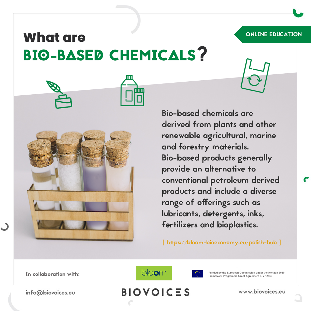What are bio-based chemicals?