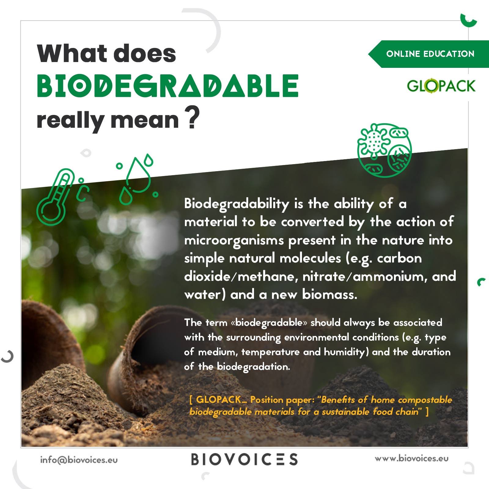 What does biodegradable really mean?