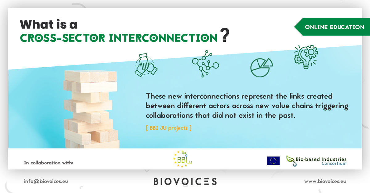 What is a cross-sector interconnection?